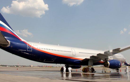 Rolls-Royce and Aeroflot celebrate new engine world record. Image courtesy of Rolls-Royce PLC via Flickr