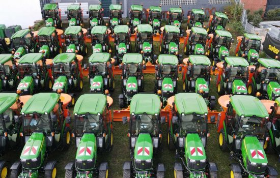 John Deere has acquired Silicon Valley robotics firm for $250m - image courtesy of John Deere