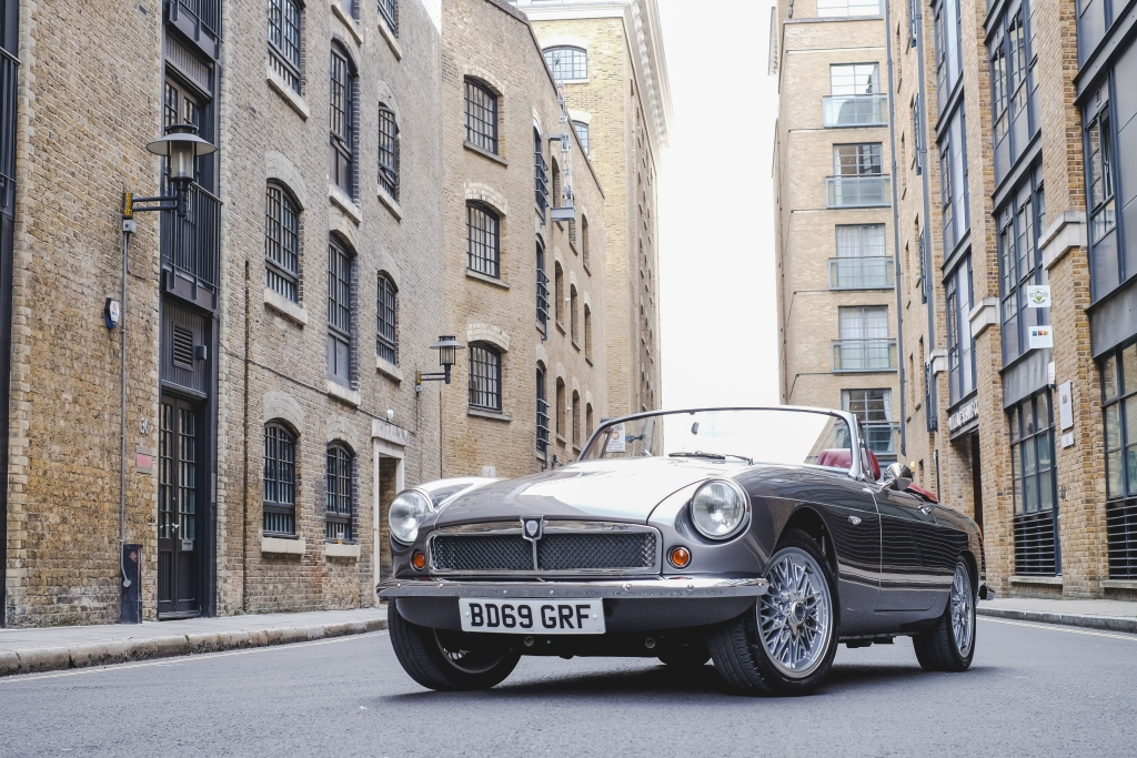 RBWEVRoadster-frontside. Image courtesy of RBW Electric Classic Cars.