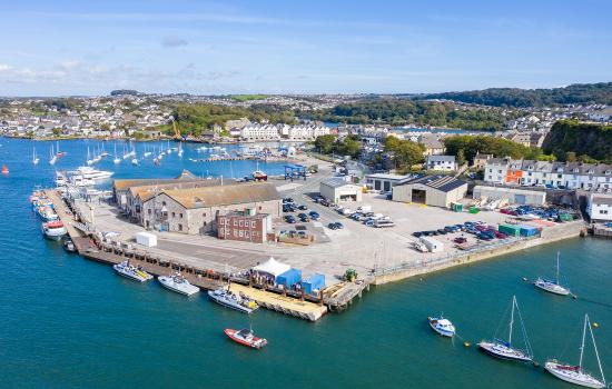 New Thales Maritime Autonomy facility at Turnchapel, Plymouth- Credit: Shaun Roster