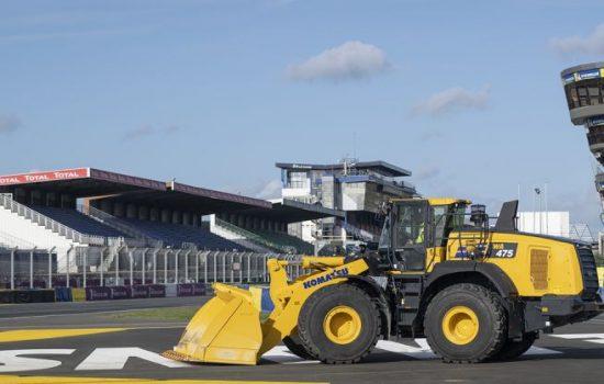 Komatsu WA475-10 wheel loader. Image courtesy of Komatsu Europe
