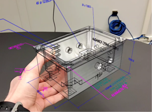 Maintenance and assembly instructions are two popular manufacturing-specific industrial AR use cases