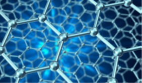 The molecular structure of graphene: Image courtesy of NPL