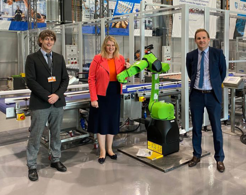Katherine Bennett CBE Chief Executive of the High Value Manufacturing Catapult at AMRC Cymru