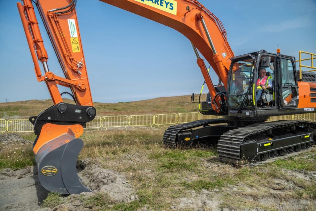 Construction begins on Britishvolt's battery gigafactory. Image courtesy of Britishvolt