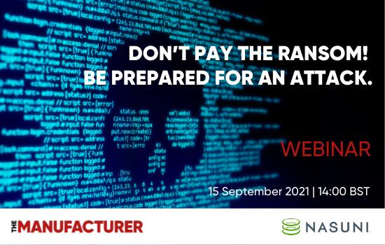 Nasuni Webinar Ransomware 15 September 2021