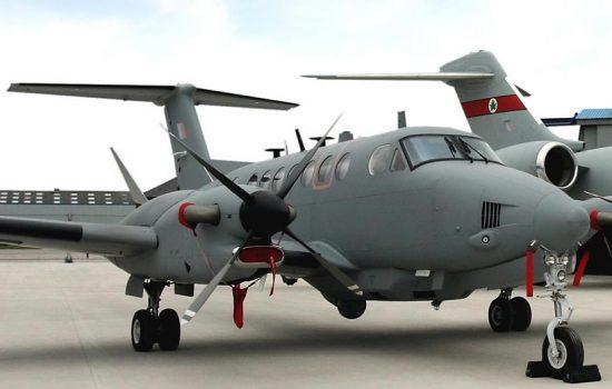 Raytheon UK Airborne ISR. Image courtesy of Raytheon UK