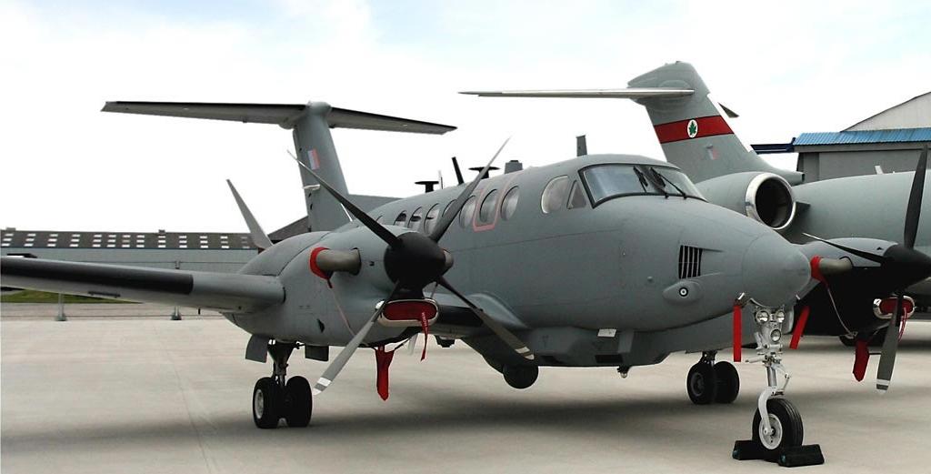 Airborne Intelligence, Surveillance and Reconnaissance (ISR). Image courtesy of Raytheon UK.