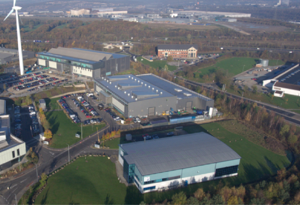 The Advanced Manufacturing Centre in Sheffield