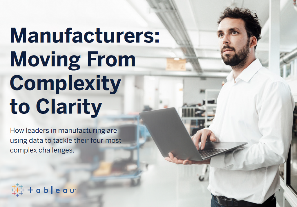 Manufacturers: Moving from Complexity to Clarity