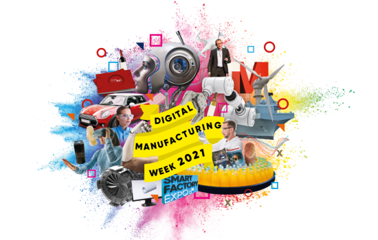 Digital Manufacturing Week 2021, including Smart Factory Expo 1100x700