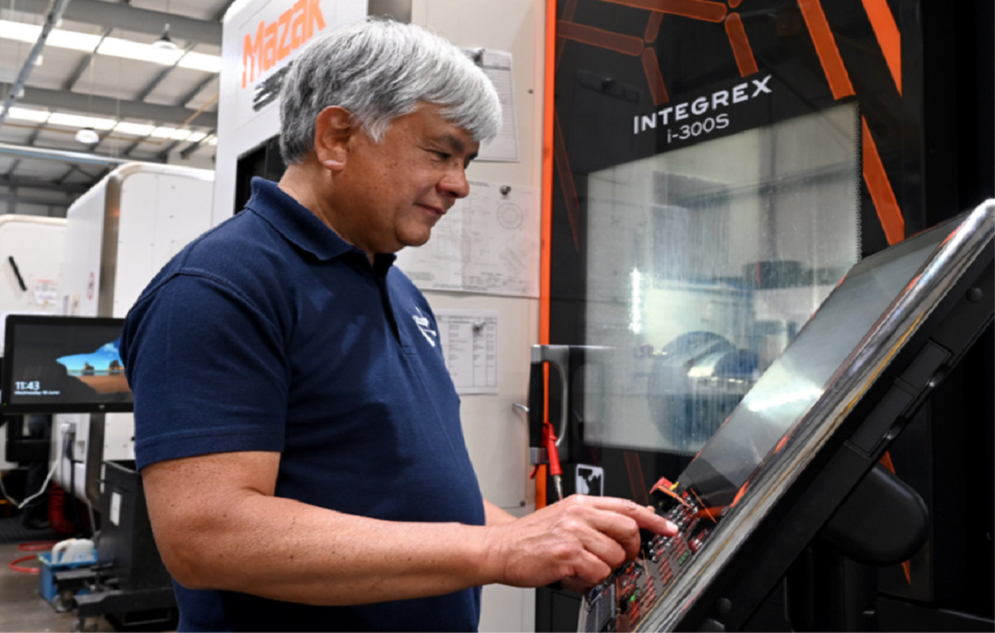 Putting the idea of 'smart' in to practice - images courtesy of Mazak