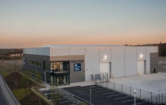 The new UKAEA fusion energy research facility. Image courtesy of UKAEA