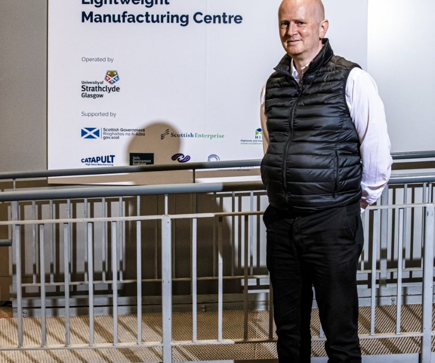 Iain Bomphray Director at the Lightweight Manufacturing Centre (LMC) - Courtesy of NMIS