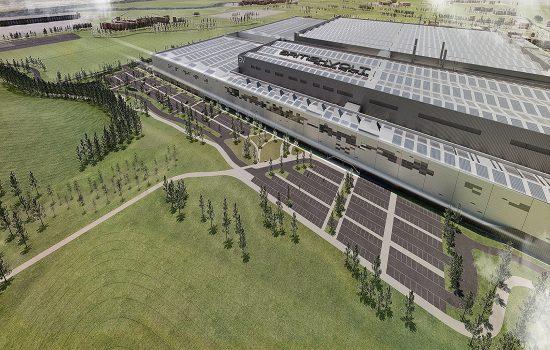 Image of proposed gigaplant - Britishvolt