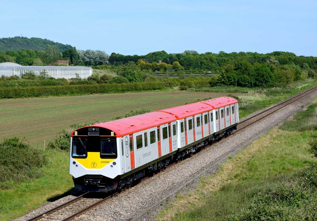 The UK's first ever exported battery trains, known colloquially as 'The D-Trains' -Peter Tandy - at Lower Moor