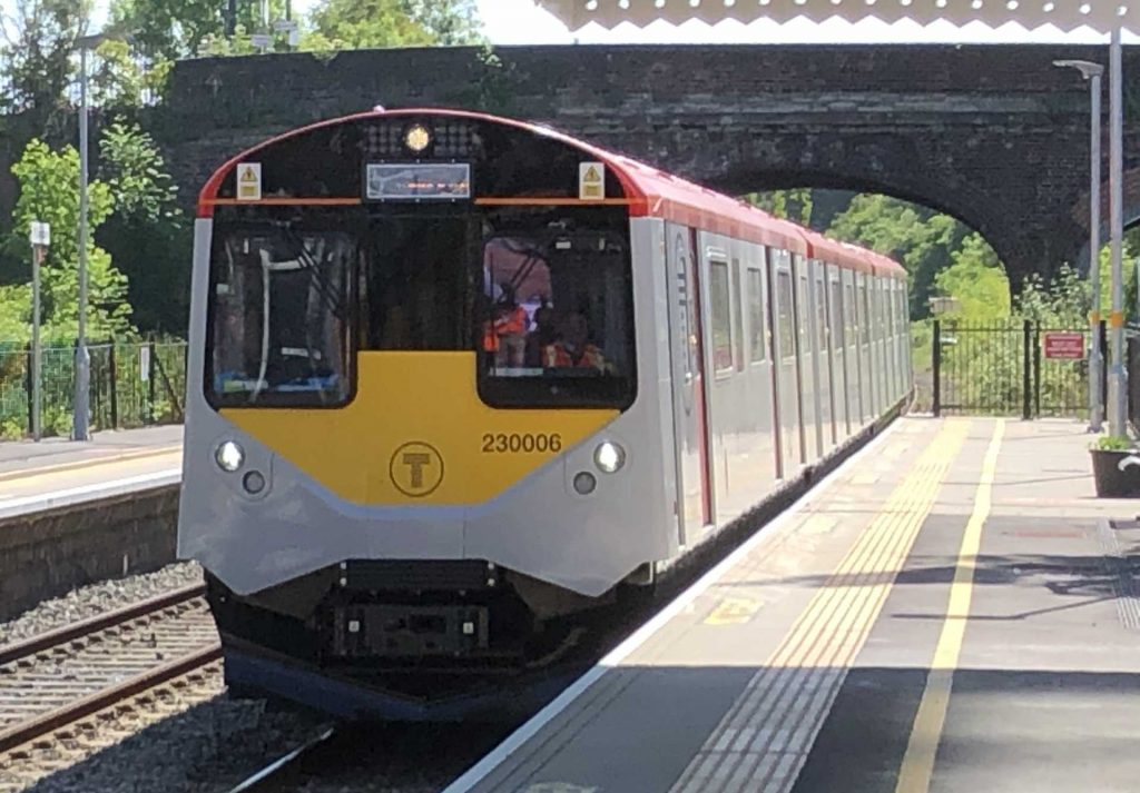 The UK's first ever exported battery trains, known colloquially as 'The D-Trains'
