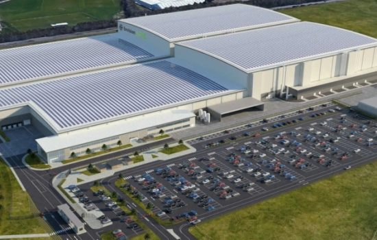 A CGI of Envision AESC's new battery plant in Sunderland. Image courtesy of Envision AESC