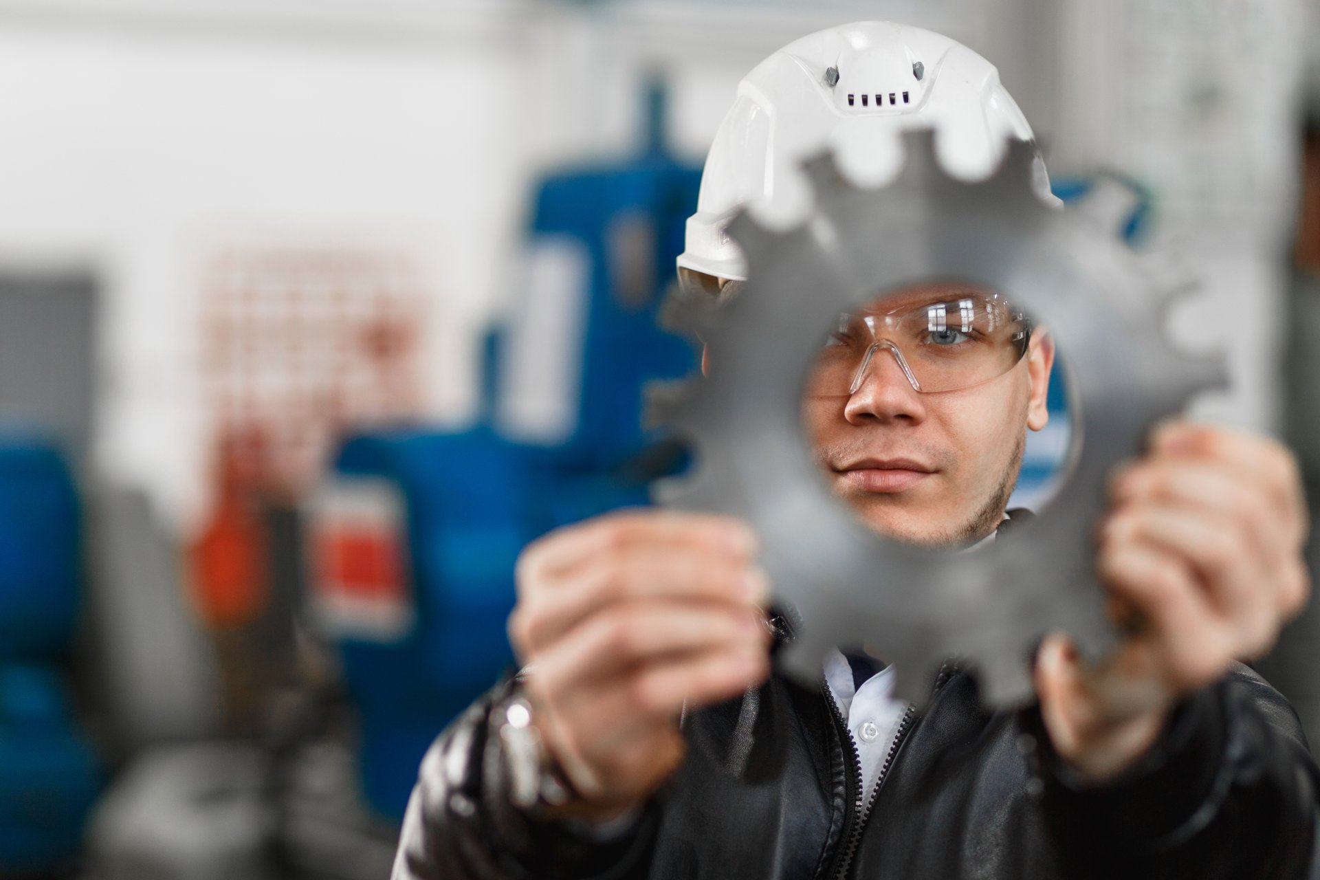 Factory,Engineer,Checks,The,Quality,Of,The,Manufactured,Part. Image courtesy of Shutterstock