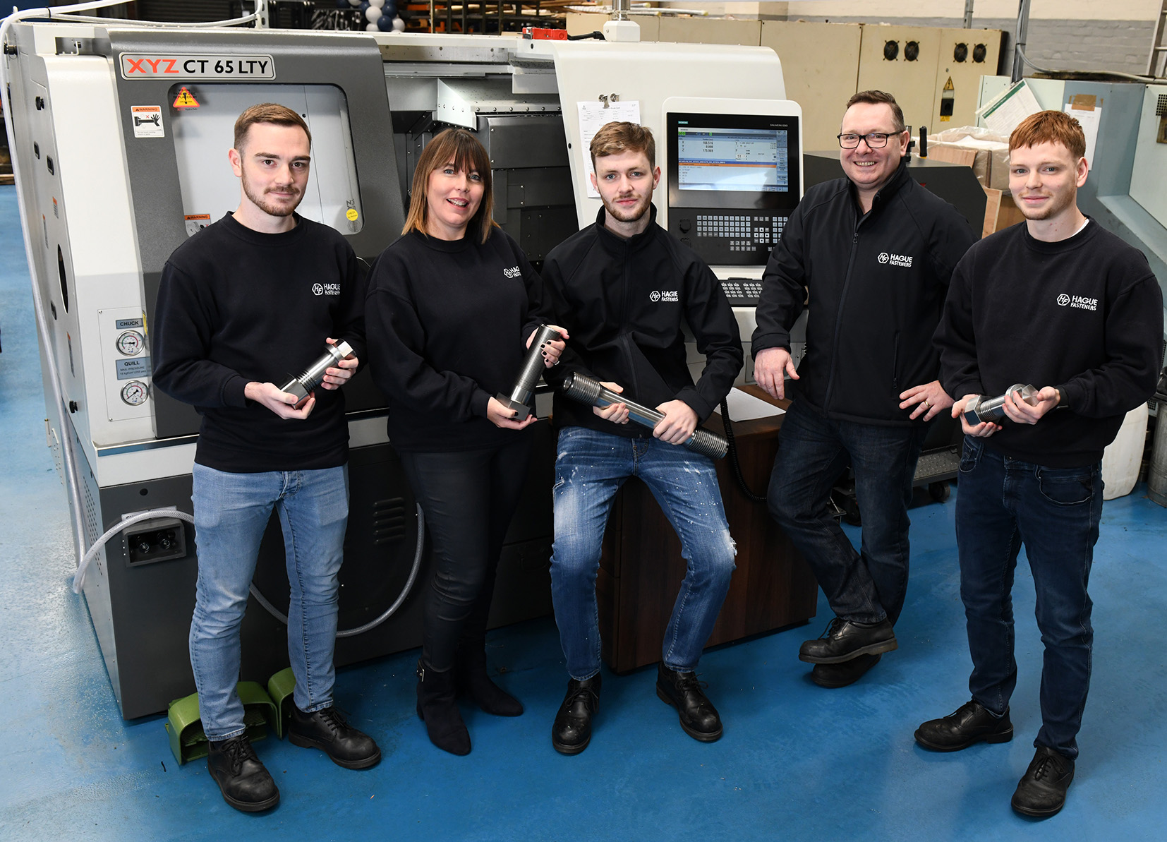 Hague Fasteners Family (L2). Image courtesy of Hague Fasteners.