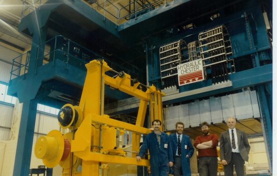 30MN Press. Image courtesy of Rhodes Interform Ltd.
