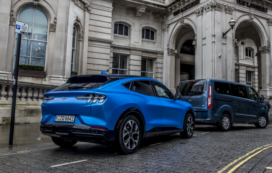 Ford plans to become a wholly electric carmaker in Europe by 2030. Image courtesy of Ford.