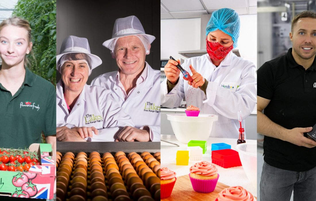 Made Smarter food and drink makers. Image courtesy of Made Smarter